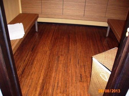 Pavimenti in legno per Spa