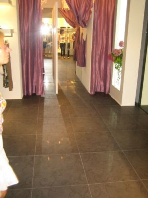 Pavimentazioni per negozi
