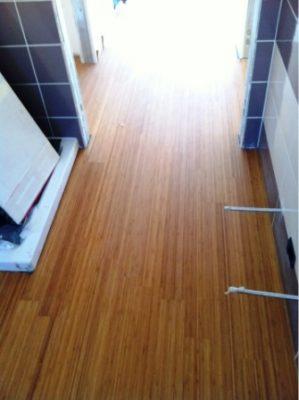 Pavimenti in legno per il bagno